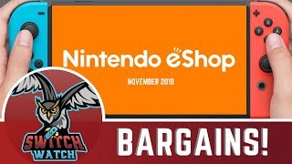 Top 5 Nintendo Switch BARGAINS! eShop games on SALE WORTH BUYING November 2018