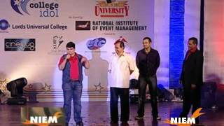 Gattu (Deven Bhojani) speaks at NIEM's MMU