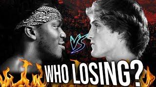KSI VS Logan Paul  | IS Logan Paul Knocking Out KSI?