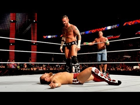 John Cena & CM Punk vs. Big Show & Daniel Bryan: Raw, August 13, 2012