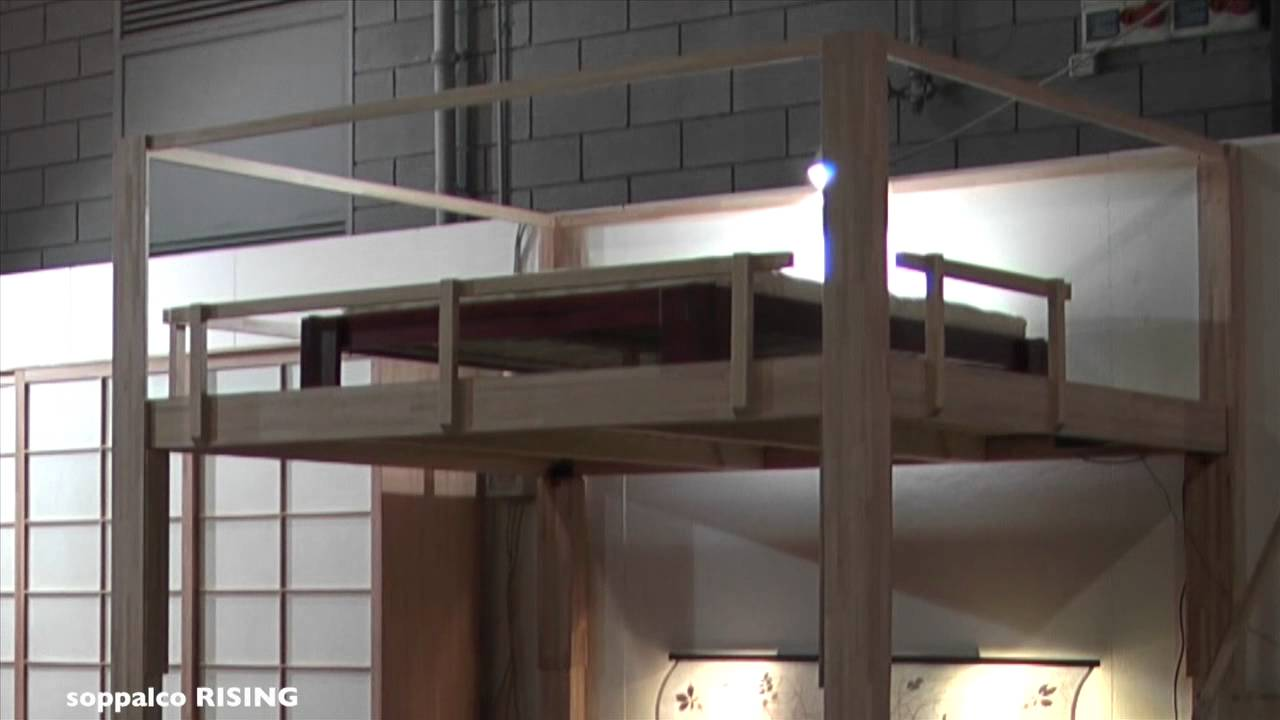 Il letto a soppalco rising alla fiera di padova 2011 youtube - Ikea letti a soppalco ...