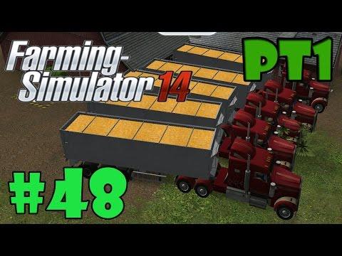 Farming Simulator 2014 #48 Vender 1 Milhão De Milho ( Parte 1 )