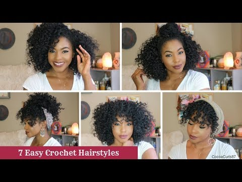 7 Easy Crochet Hairstyles Freetress Ringlet Wand Curl