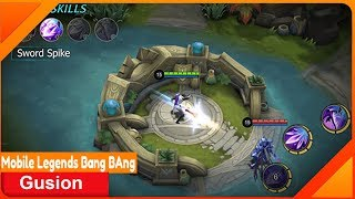 Gusion Assassin Mobile Legends Build Top Rank World | Highlight Gusion