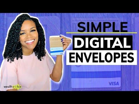 Digital Envelopes | Alternative to Cash Budget Envelopes | Simple Banking App