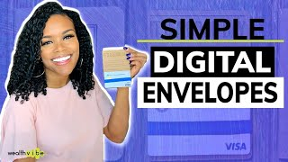 Digital Envelopes | Alternative to Cash Budget Envelopes | Simple Banking App