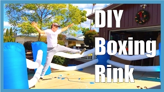 DIY Inflatable Boxing Rink
