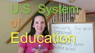 U.S. System of Education - English Vocabulary with JenniferESL