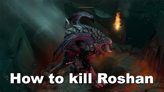 MP ROTK - Roshan is ours. Not. TI5 Dota 2