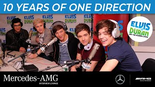 Celebrating 10 Years Of One Direction | Elvis Duran Show