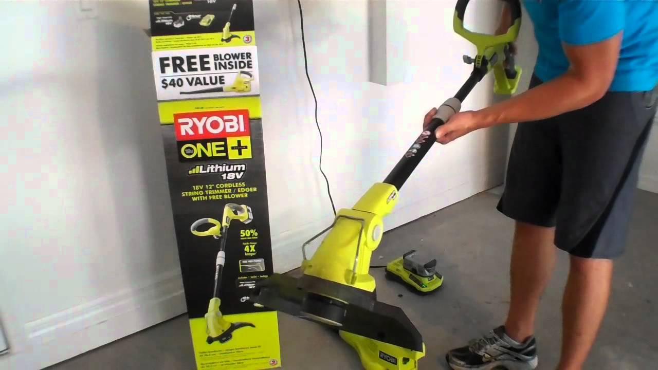 Ryobi One Plus Weed Eater And Blower Combo Good Bad Review