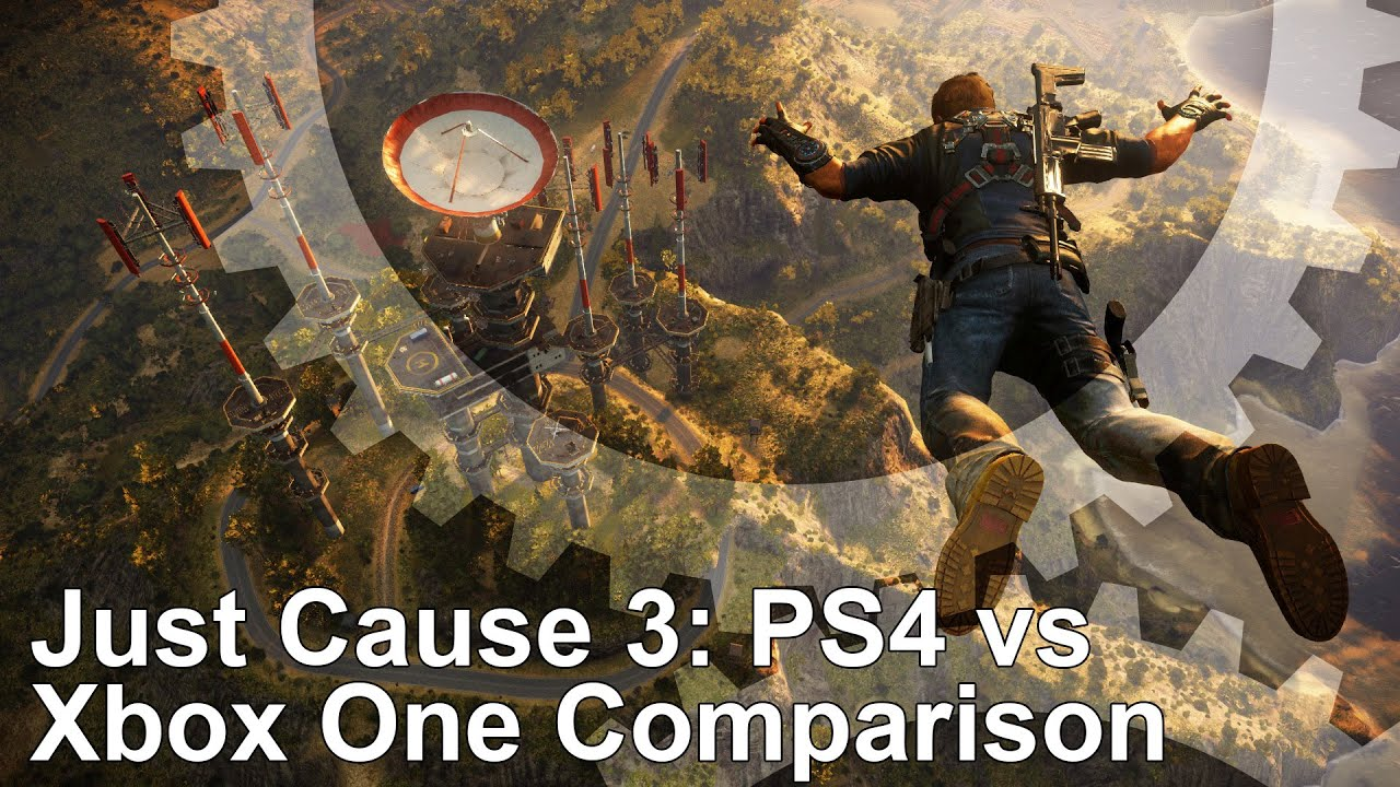 just cause 3 ps4 vs xbox one graphics comparison youtube. Black Bedroom Furniture Sets. Home Design Ideas