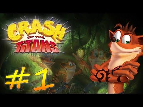 Прохождение Crash of the Titans (PS2) #1 - Оттяжной прыжок