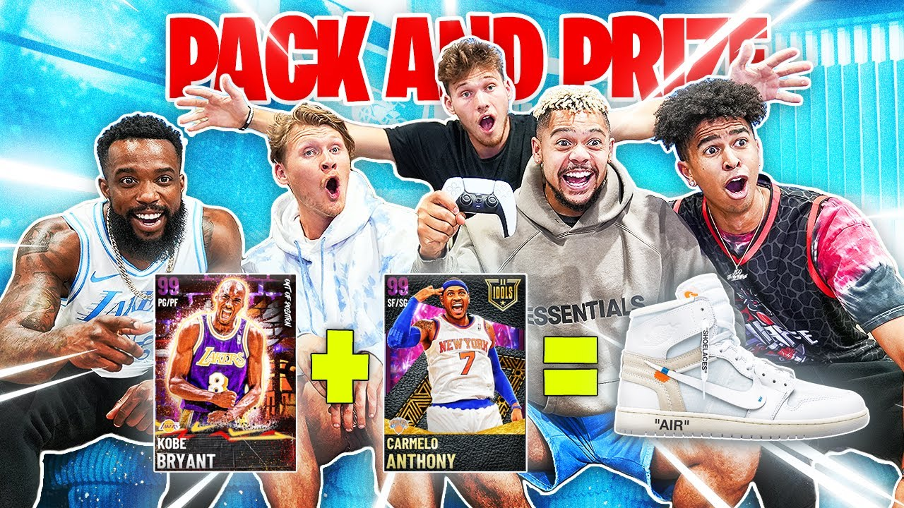 2HYPE Pack and Prize for HYPEBEAST Shoe!   NBA 2K21 NEXT GEN!!