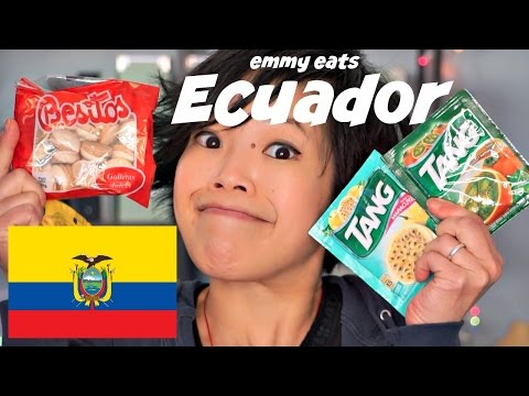Emmy Eats Ecuador - tasting Ecuadorean treats
