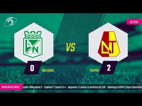 EN VIVO: Atlético Nacional vs Deportes Tolima