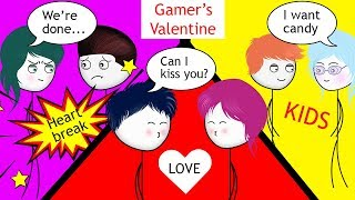 When a Gamer celebrates Valentine's Day