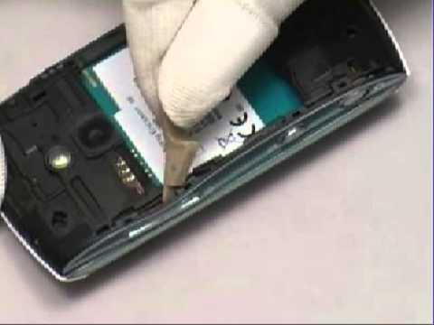 Sony Ericsson U8 U8i U8a Vivaz pro disassemble