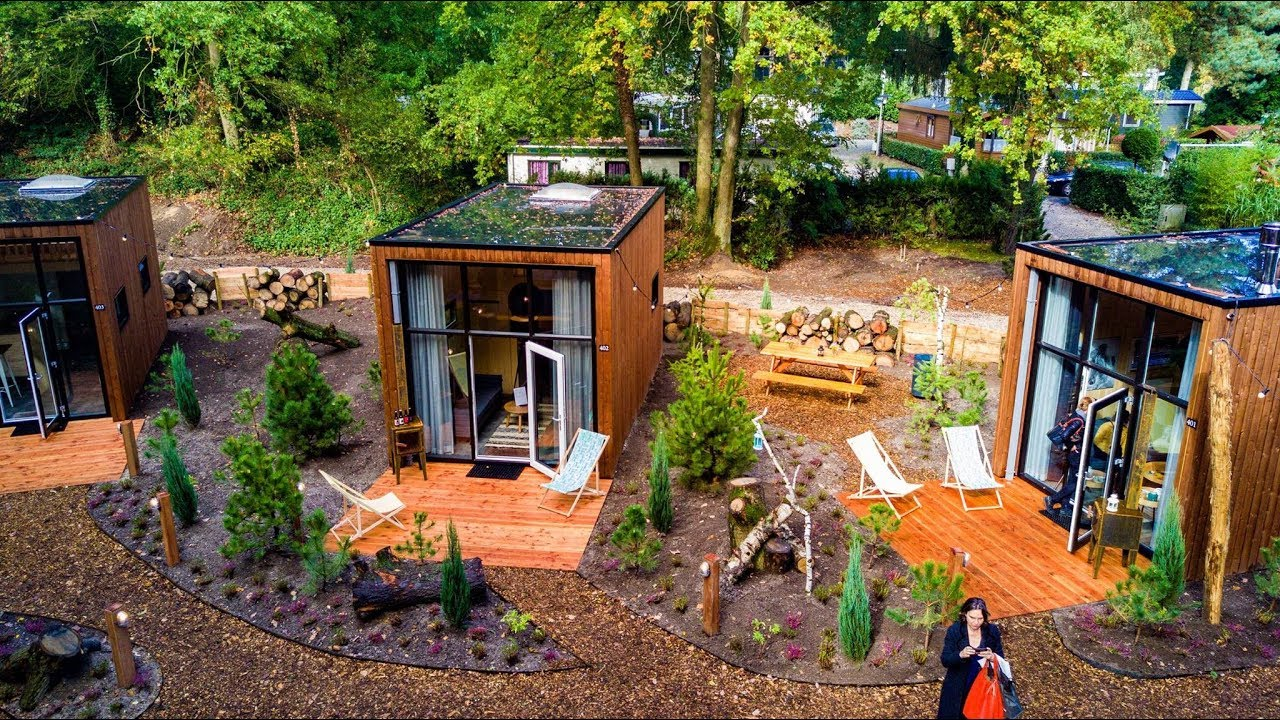 Tiny Houses By Droomparken Nos Youtube