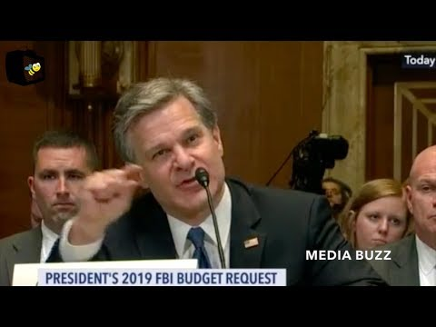 FBI Director Christopher Wray Testifies to Senate Committee 5/16/18
