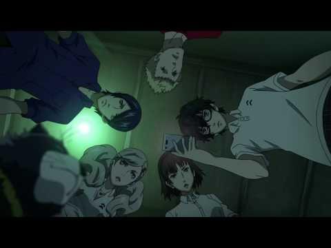 Persona 5 The Animation - The Phantom Thieves Enter Futaba's Palace