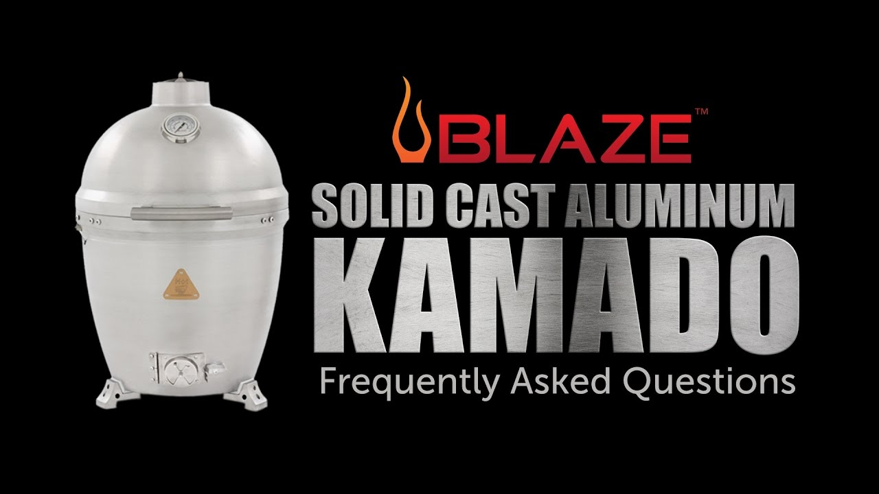 Blaze Aluminum Kamado | Frequently Asked Questions - YouTube