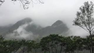 雲霧繚繞藏青谷.