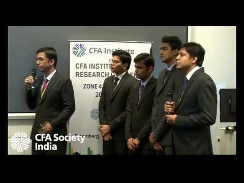 01 CFA Institute Research Challenge 2016-17 (West Zone Final