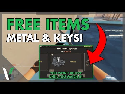 The *EASIEST* Way To Get FREE (Refined Metal/Keys)! | Team Fortress 2