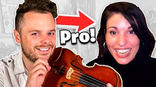 I Hired PRO Violin Teachers and Pretended to be a Beginner...