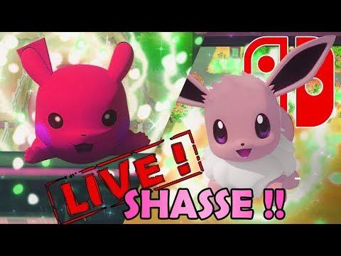 SHASSE AUX SHINYS SPECIAL SAINT VALENTIN DANS POKEMON LET'S GO !!! - NINTENDO SWITCH thumbnail