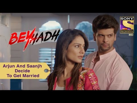 Your Favorite Character | Arjun And Saanjh Decide To Get Married | Beyhadh