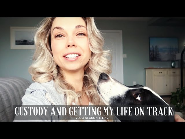 Custody And Getting My Life On Track | Vlog Season 1, Ep. 2