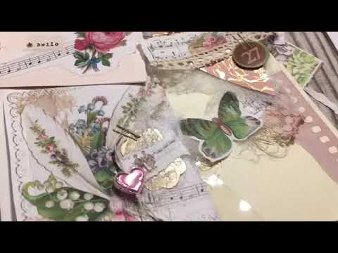 Embellishments using scraps and stuff around the desk minichallengeinthechallenge #1