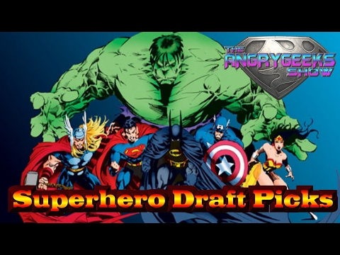 Superhero Draft picks , Building a Super Team