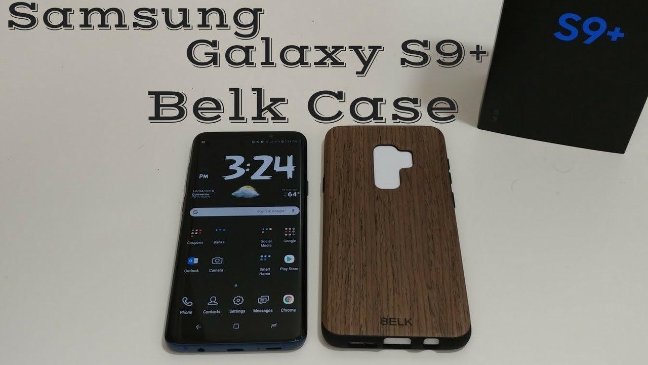 separation shoes e546f 31901 Samsung Galaxy S9+ Belk Soft Wood Air Cushion Case