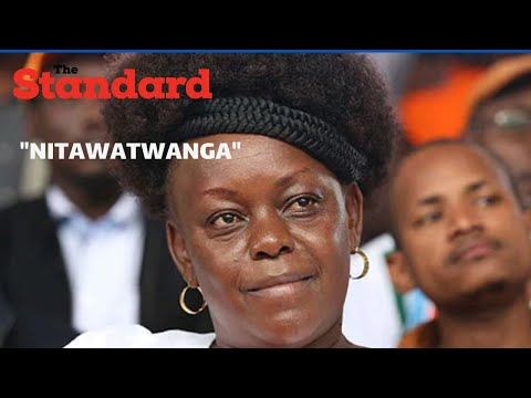 """Nitawatwanga, me I am not going to joke with them"",Milly Odhiambo slams Opinion Pollsters"