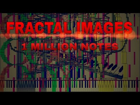 [Black MIDI] - Fractal Images | 1 Million Notes | TSMB2