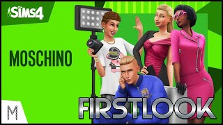 "FIRSTLOOK ""Moschino x The Sims"""