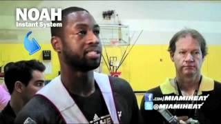 Dwyane Wade shot trainer