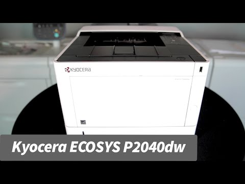 Kyocera ECOSYS P2040dw - Review
