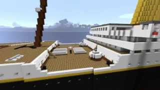 Minecraft - The RMS Titanic - 1st Version (Abandoned, see description)
