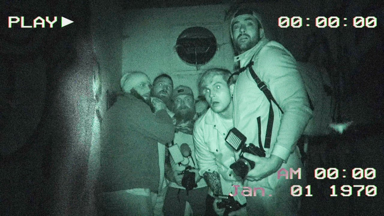 I Explored An ACTUAL HAUNTED INSANE ASYLUM with Famous Tiktokers!!!