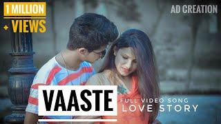Vaaste Song: Cute Love Story |  Dhvani Bhanushali | Tanishk Bagchi | ad creation | Aryaman Dhillon