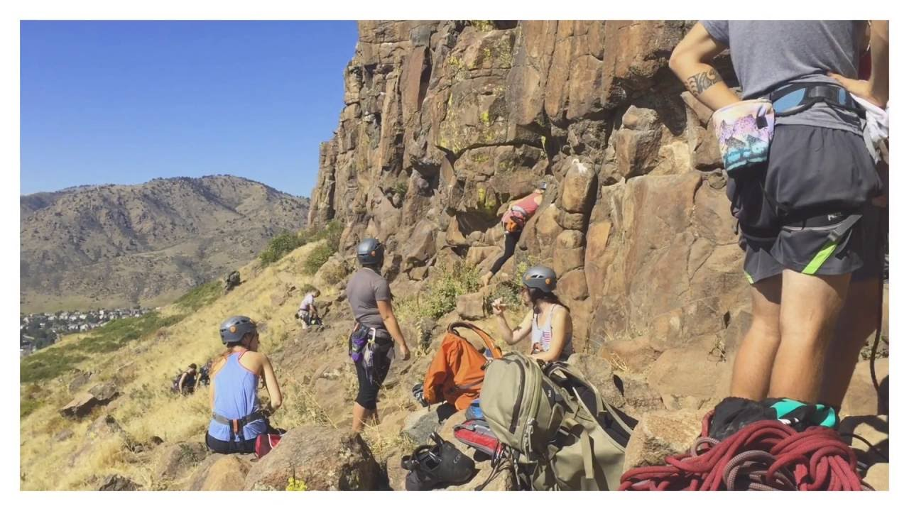 CCU Outdoor Leadership: Rock Climbing