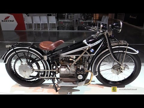 1923 BMW R32 Vintage Bike - Walkaround - 2016 EICMA Milan