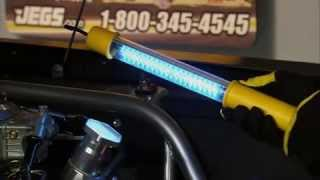 JEGS Rechargeable LED Work Lights With Kenny Wallace(, 2009-06-05T19:22:08.000Z)