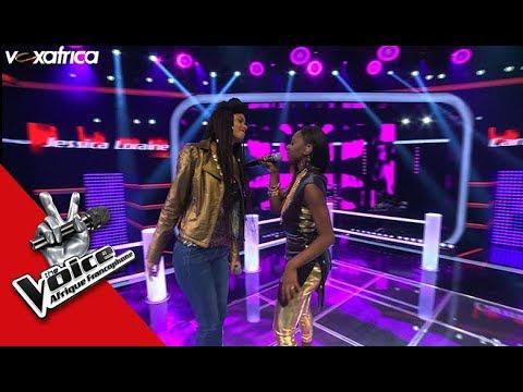 Carmy-J vs Jessica Loraine ' Calée ' de Daphné Les Battles | The Voice Afrique Francophone 2017