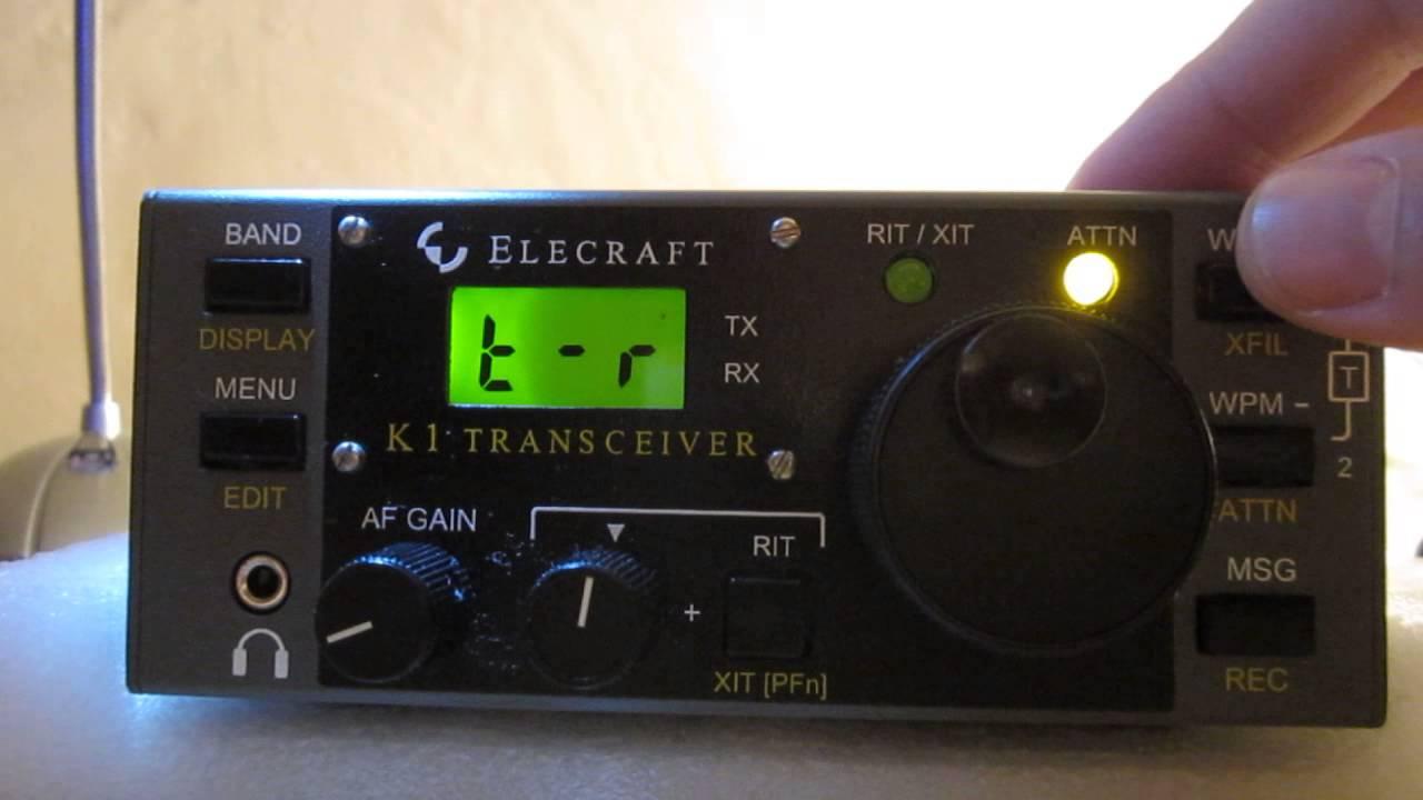 Elecraft K1 I
