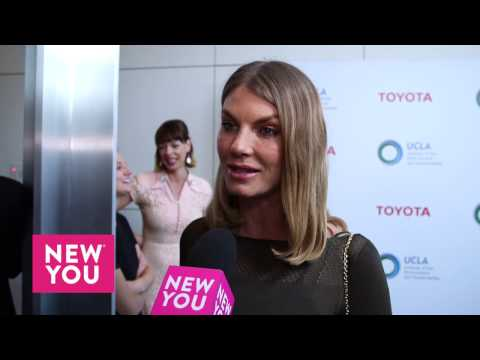 Angela Lindvall at UCLA Environment Gala